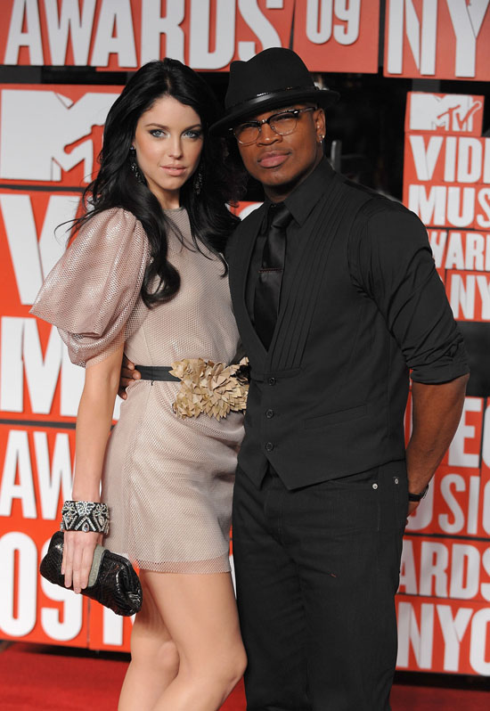 NEW YORK - SEPTEMBER 13:  Jadyn Maria and Ne-Yo attend the 2009 MTV Video Music Awards at Radio City Music Hall on September 13, 2009 in New York City.  (Photo by Dimitrios Kambouris/WireImage)